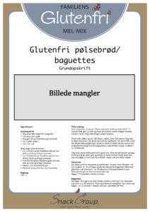 5. Glutenfri pølsebrød (DK opskrift)