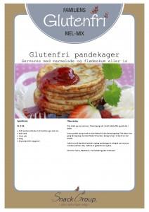 Familiens glutenfri pandekager