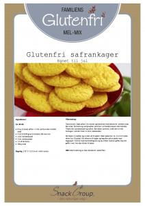 Familiens glutenfri safrankager