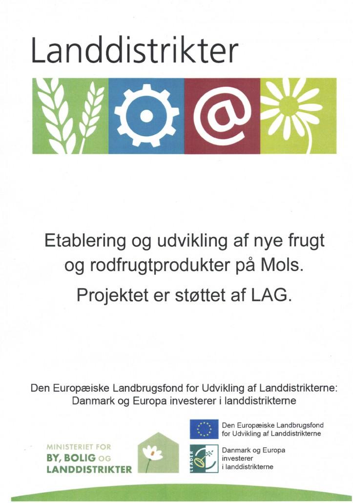 Projektet er støttet af LAG