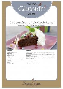 Familiens glutenfri chokoladekage