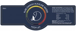 Pure Dansih Alkaline water